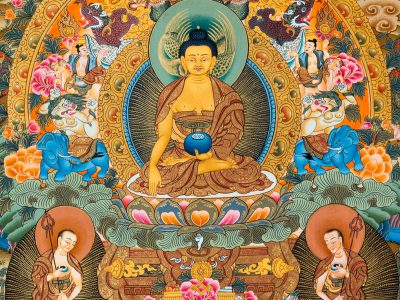 Featured Image for Buddhism and Modern Psychology - Ancient Buddha Thangka Painting