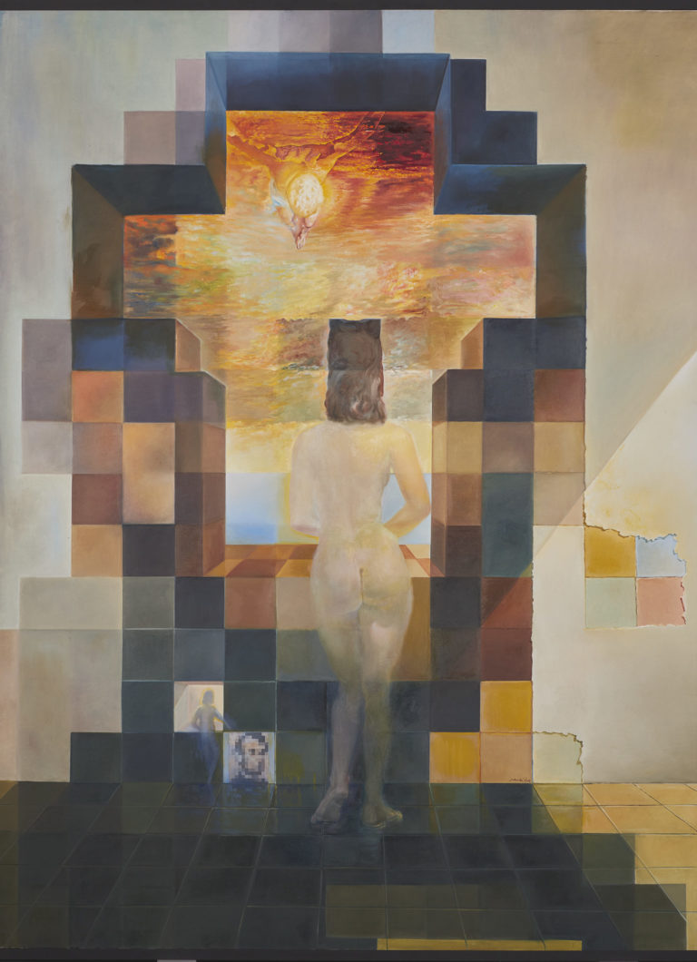 Featured Image for Bring to light your true self by adopting Jung's individuation process - Salvador Dali - Gala Contemplating the Mediterranean Sea