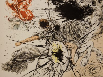 Featured Image for Archetype Anatomy: The Shadow - The dark side of your Psyche; Salvador Dali drawing depicting a Battle