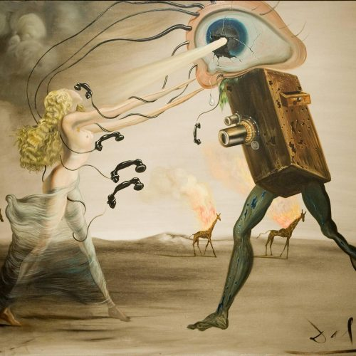 Featured Image for Quick Guide: The Active Imagination Technique; Salvador Dali Surrealist painting depicting a dream