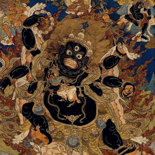 Buddhism and Modern Psychology featured image - Mahalaka, protector of the Faith