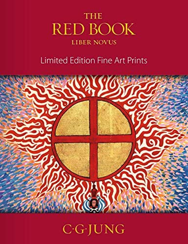 The Red Book - Carl G. Jung's - Philemon - Fine Art Print 25″x 32.8″ (63.5 x 83.3 cm)