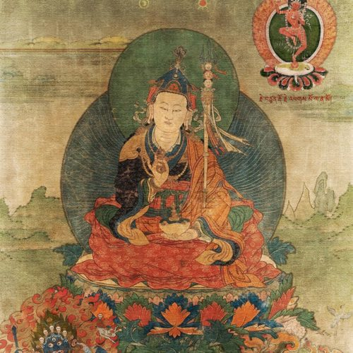 Contemporary Mindfulness Preconceptions featured image using a Buddhist Painting