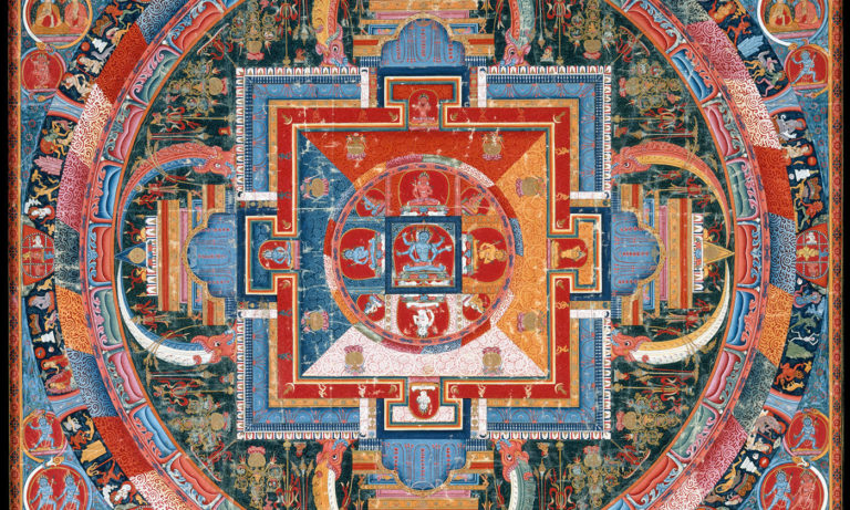 Ancient Mandala used as Featured Image for Mandala Symbolism in Analytical Psychology
