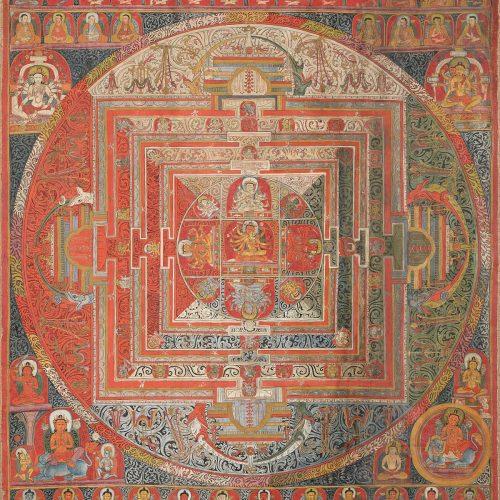 Featured Image for Mandala Symbolism in Analytical Psychology - Manjuvajra Mandala