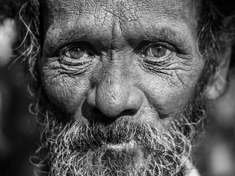 Featured Image for The Wise old man: Archetype Anatomy - Monochrome Photography of an old man