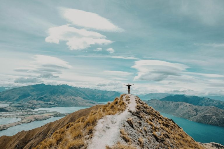 Featured Image for What is Attribution Theory? Use it to fuel your Motivation -Photo of a man standing on top of a mountain
