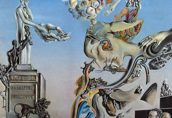 Featured Image for Essential Steps of the Active Imagination Technique using a Salvador Dali Painting depicting a Dream that helps the visualisation of the technique