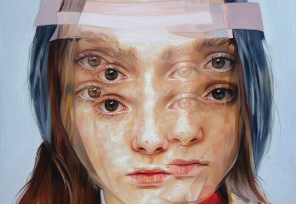 Featured Image for Lev Vygotsky's Theory of Social Development - Collage Artwork depicting a duplicated girl's face