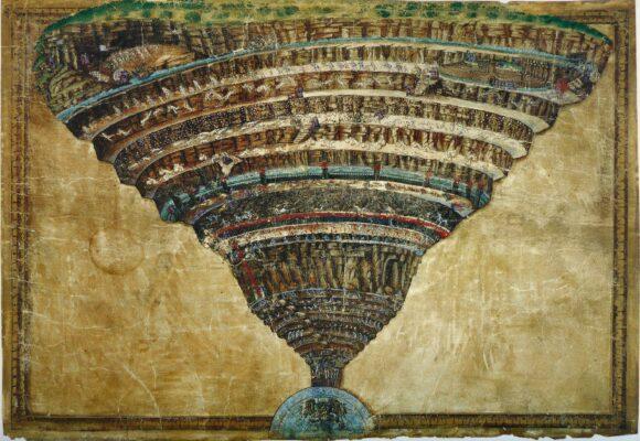Featured Image of Dissecting the concept of Collective unconscious, Sandro Botticelli - La Carte de l'Enfer